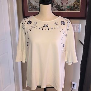 New York and Co Festive Blouse